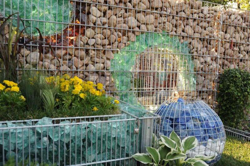 Стеклянный забор своими руками 648