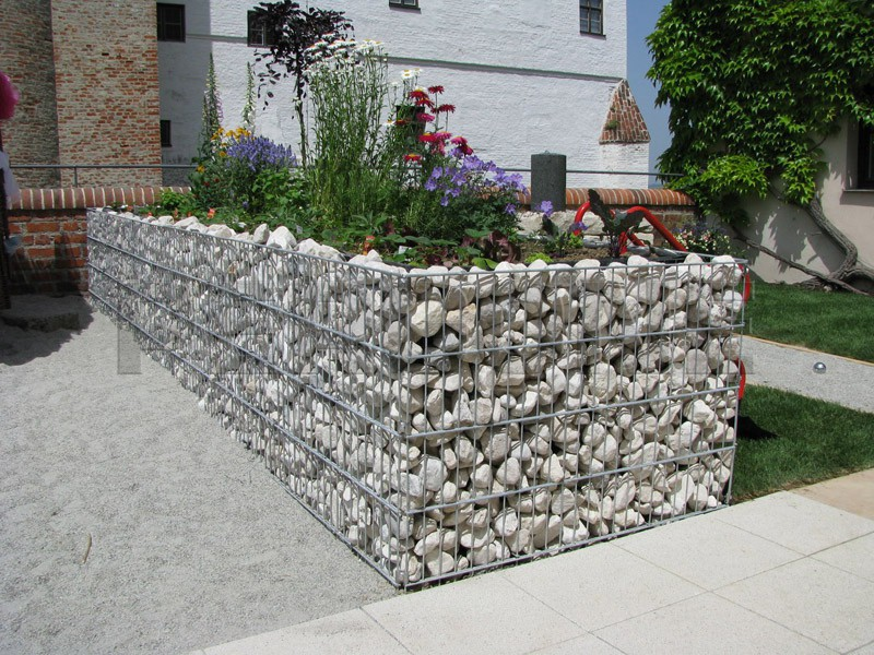 Забор из гравия своими руками фото